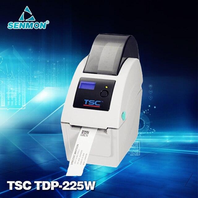 TSC TDP-225W Рабочего Прямая Термопечать Принтер Штрих-Кода Браслеты Принтер фот Entertainment и Гостеприимства