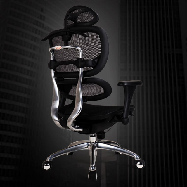 Ergonomic Waist Computer Chair Home Game Lift Study Office Chair Comfortable Sedentary Boss Intelligent Lumbar Support