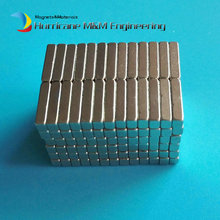 200pcs Magnet Block 9x3x2 mm NdFeB Strong Neodymium Magnets Rare Earth Permanent Magnet Cube NiCuNi Plating
