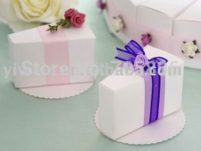 wedding cake take home bags free shipping 100pcs wedding cake box white color popular 26204