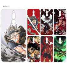 TPU Soft Case for Huawei Mate 10 20 P10 P20 P30 Honor 9 10 Lite Pro P Smart 2019 Black Clover Anime Cartoon Silicone Cases Capa(China)