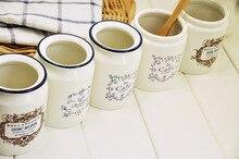 Freies verschiffen Neue 2013 Zakka Weiße keramik eis knacken Milch dosen Sauce topf teekanne Lagertank flaschen vier optional