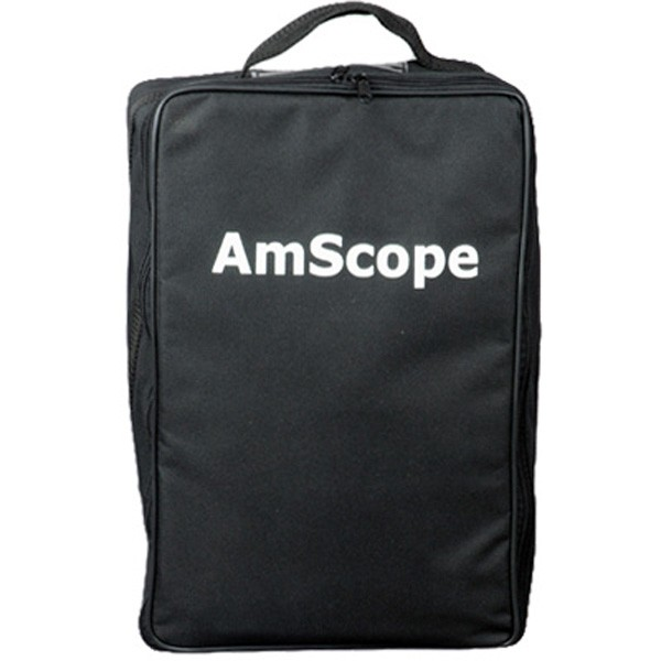 AmScope Microscope Vinyl Carrying Bag Case (Medium)  CB B490|Instrument Parts & Accessories| |  - title=