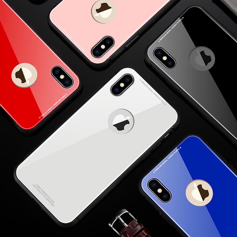 funda iphone x cristal