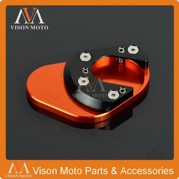 Kickstand Side Stand Extension Pad Plate for KTM 125 200 390 690 950 990 Duke RC