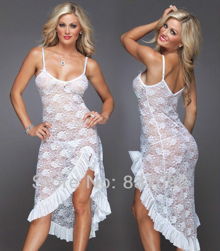 أسود أبيض أحمر زائد الحجم s m l xl xxl 2xl 3xl 4xl الملابس الداخلية ثوب النوم ثوب طويل الدانتيل بيبي دول قميص النوم