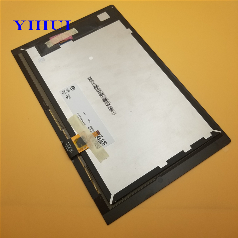 YIHUI 10.1inch lcd+touch For Lenovo YOGA Tab 3 YT3-X50F YT3-X50 YT3-X50M 10.1 LCD Display + Touch Screen Digitizer Assembly lpply for lenovo yoga tab 3 yt3 x50f yt3 x50 yt3 x50m lcd display with touch screen digitizer assembly free shipping