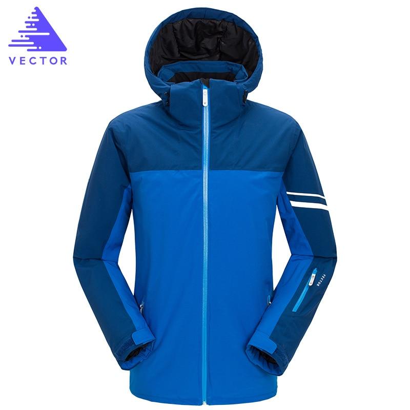 Veste synthétique de Ski Extra épaisse capuche chaude Sport de neige hommes manteau d'hiver femmes Ski Snowboard vêtements de plein air imperméable 2019 nouveau - 6