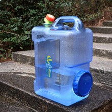 12L Water Bags Car Driving Water Bucket Thickened Portable W