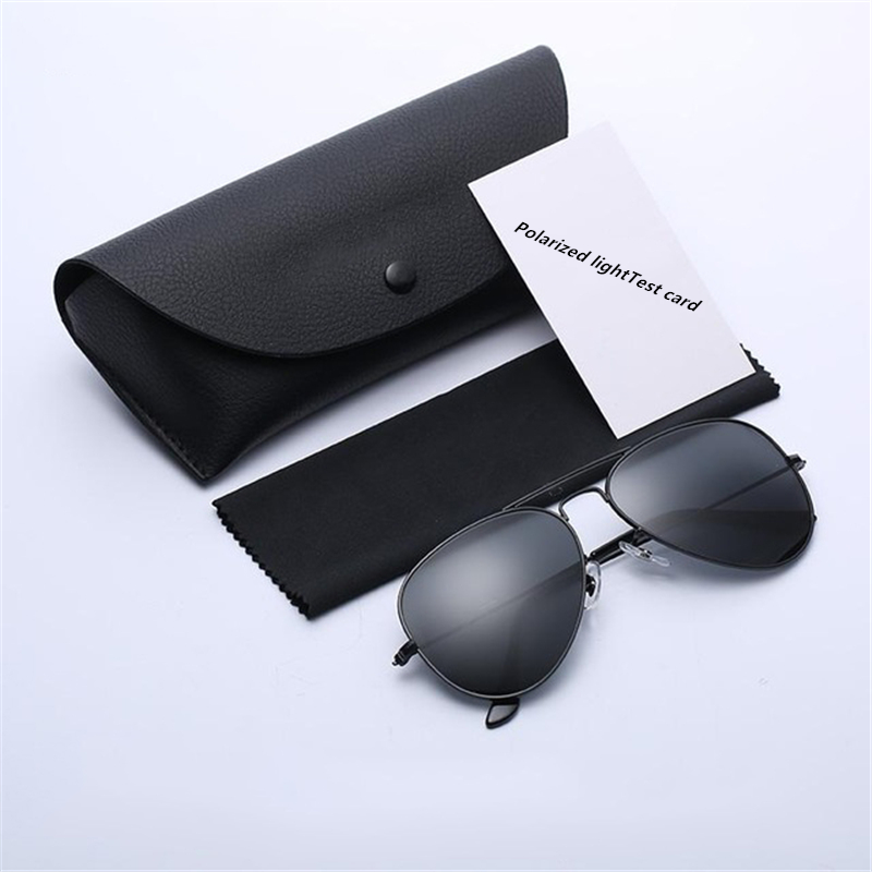 2019 High quality G15 lenses are suitable for men and women UV400 Sunglasses <font><b>aviation</b></font> brand classical mirror men's glasses image