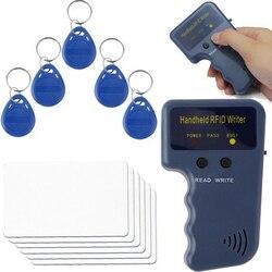 125KHz RFID powielacz kopiarka pisarz programista czytnik pisarz ID Cloner i klucz w Czytniki kart kontrolnych od Bezpieczeństwo i ochrona na