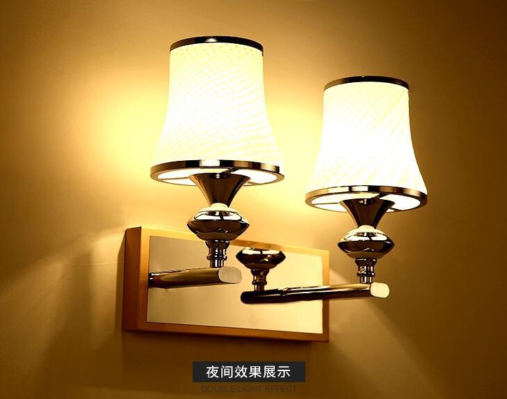 ФОТО A1 The new creative cozy European style wall lamp Home Furnishing room corridor WALL lights