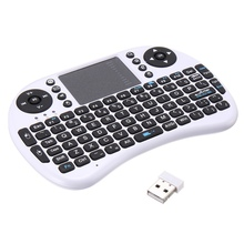 Mini Wireless Keyboard Backlit Remote Controller Touchpad QWERTY Fly Air Mouse For Android TV Box for Raspberry Pi Tablet PC