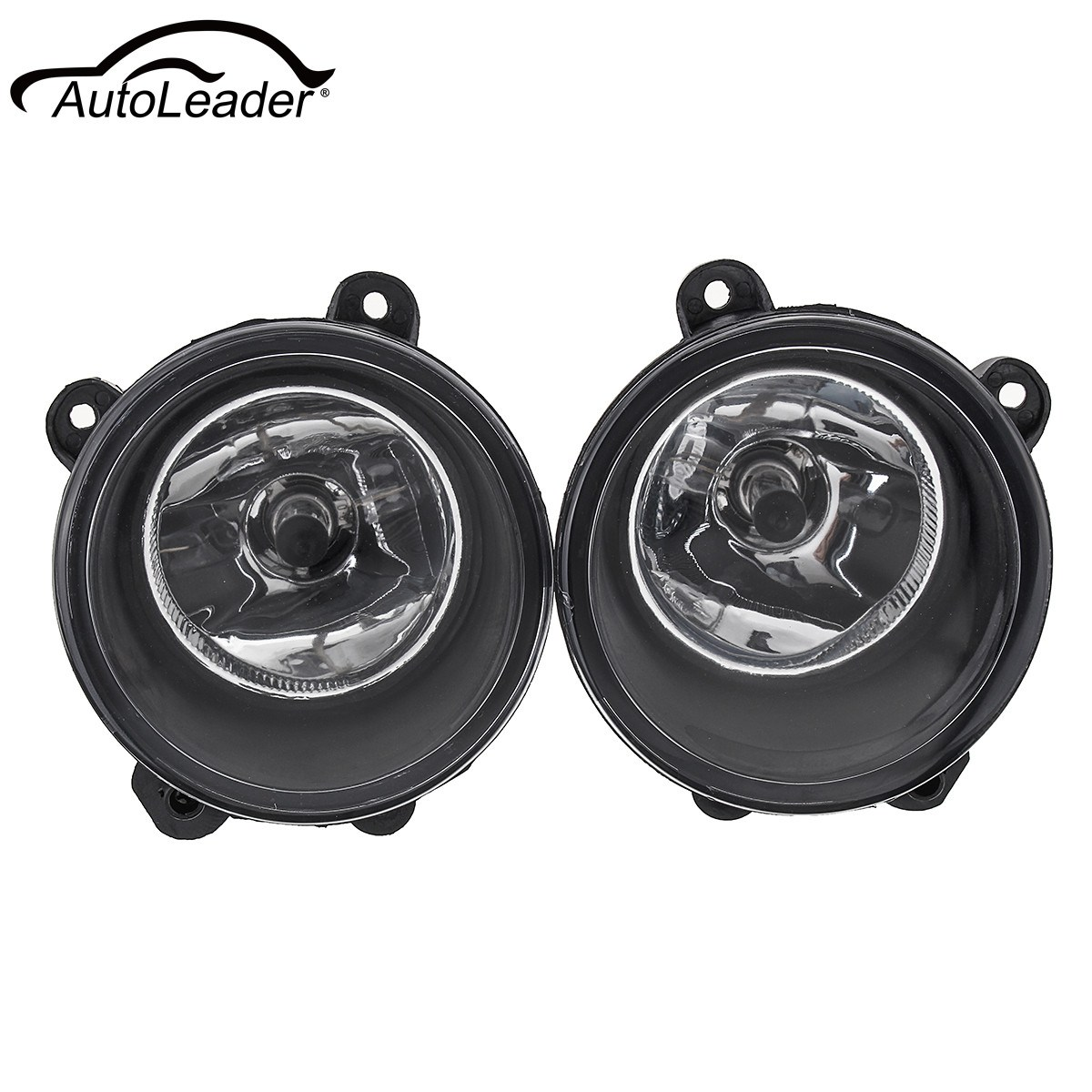 1Pair Car Fog Lights Clear Lamp H11 Bulbs Front Right+Left Fog Lamp For Land Rover Discovery 3 X2 2003-2009 2pcs auto right left fog light lamp car styling h11 halogen light 12v 55w bulb assembly for land rover range rover range rover