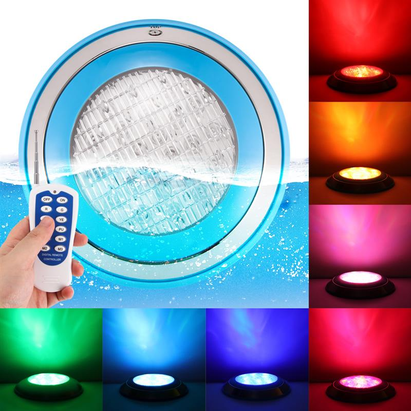 Wholesale Swimming Pool Light 24W 36W AC DC 12V RGB Remote Controller Outdoor Lighting IP68Waterproof Underwater