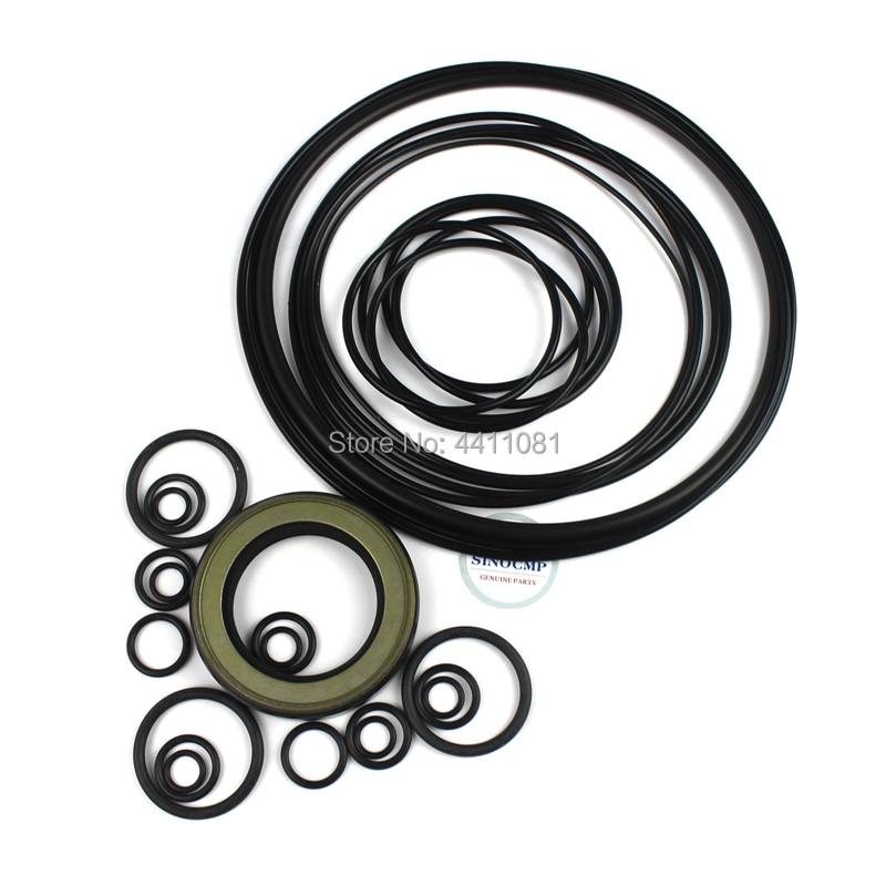 For Komatsu PC30MR 1 Hydraulic Pump Seal Repair Service Kit Excavator Oil Seals, 3 month warranty