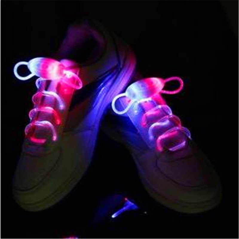 2018 New Arrival Costume Leds 35pairs lot Bling For Led Shoelaces  Shoestring Flash Light Up Glow Stick Strap Laces Disco Party -in Glow Party  Supplies from ... 051810ffc66b