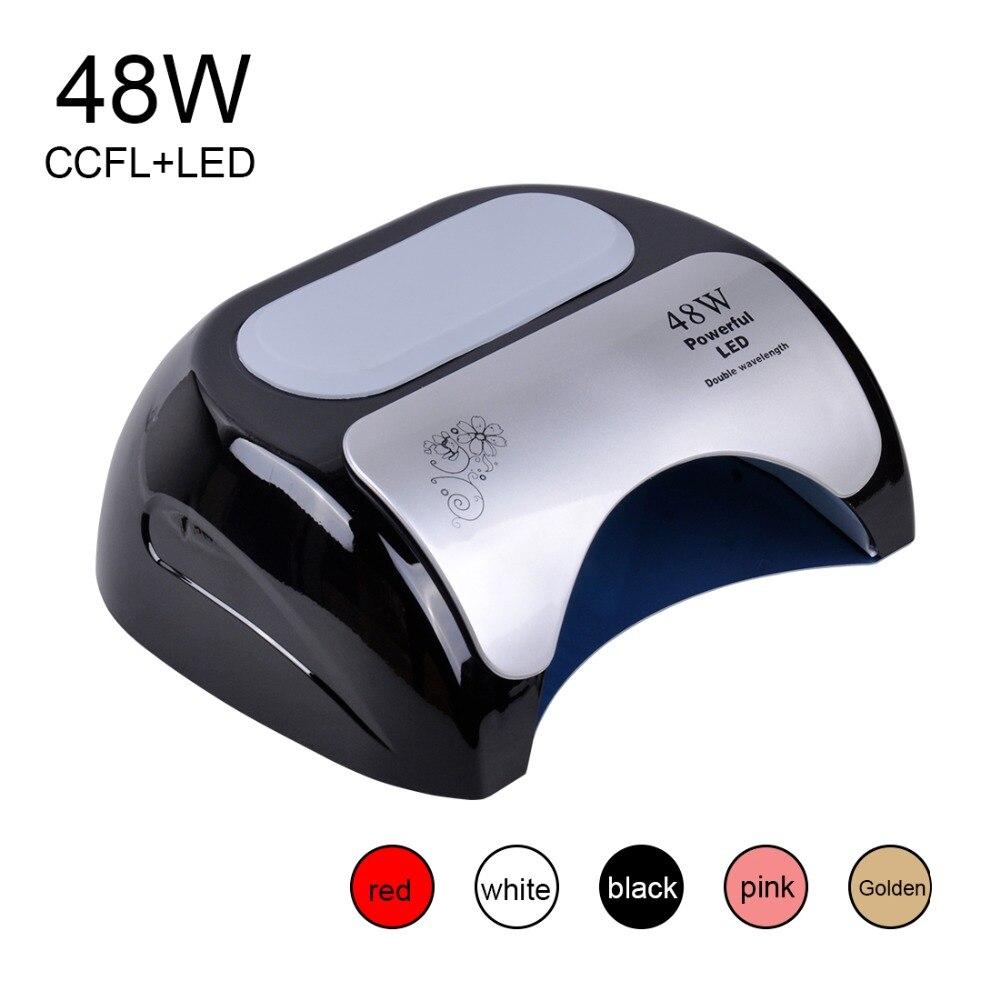 Biutee 48 watt Nagel Trockner Polnischen Maschine CCFL UV Lampe LED Nagel Lampe Für Gel Nagellack Kunst Automatische Hand sensor Nail art Werkzeuge