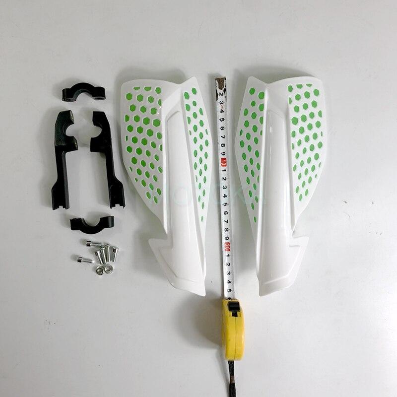 Acerbis 7/8 ou 1 1/8 MX Uniko garde-mains ventilé vtt Z1000 ER6N KXF CQR TTR CRF YZF Aprilia protège-mains blanc/rouge/jaune