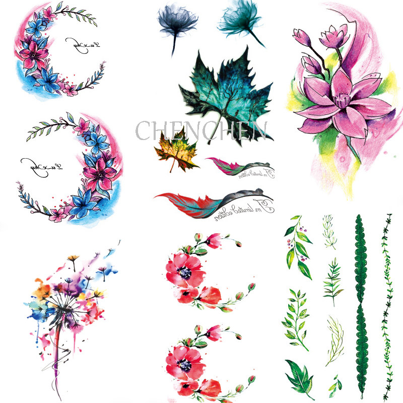 Buy lily tattoos and get free shipping on aliexpress com
