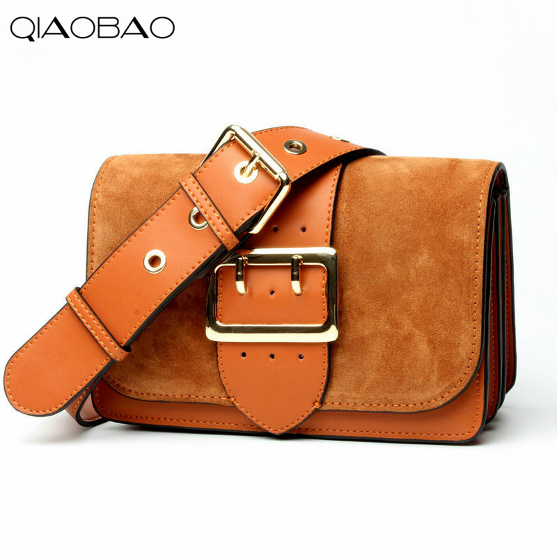 QIAOBAO 2017 New trend of Cowhide Leather handbags fashion leisure shoulder diagonal cross package brand cowhide ladies bag qiaobao 100% genuine leather handbags new network of red explosion ladle ladies bag fashion trend ladies bag