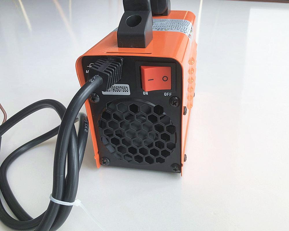 RU lieferung 250A 110-250V Kompakte Mini MMA Schweißer Inverter ARC Schweißen Maschine Stick Schweißer