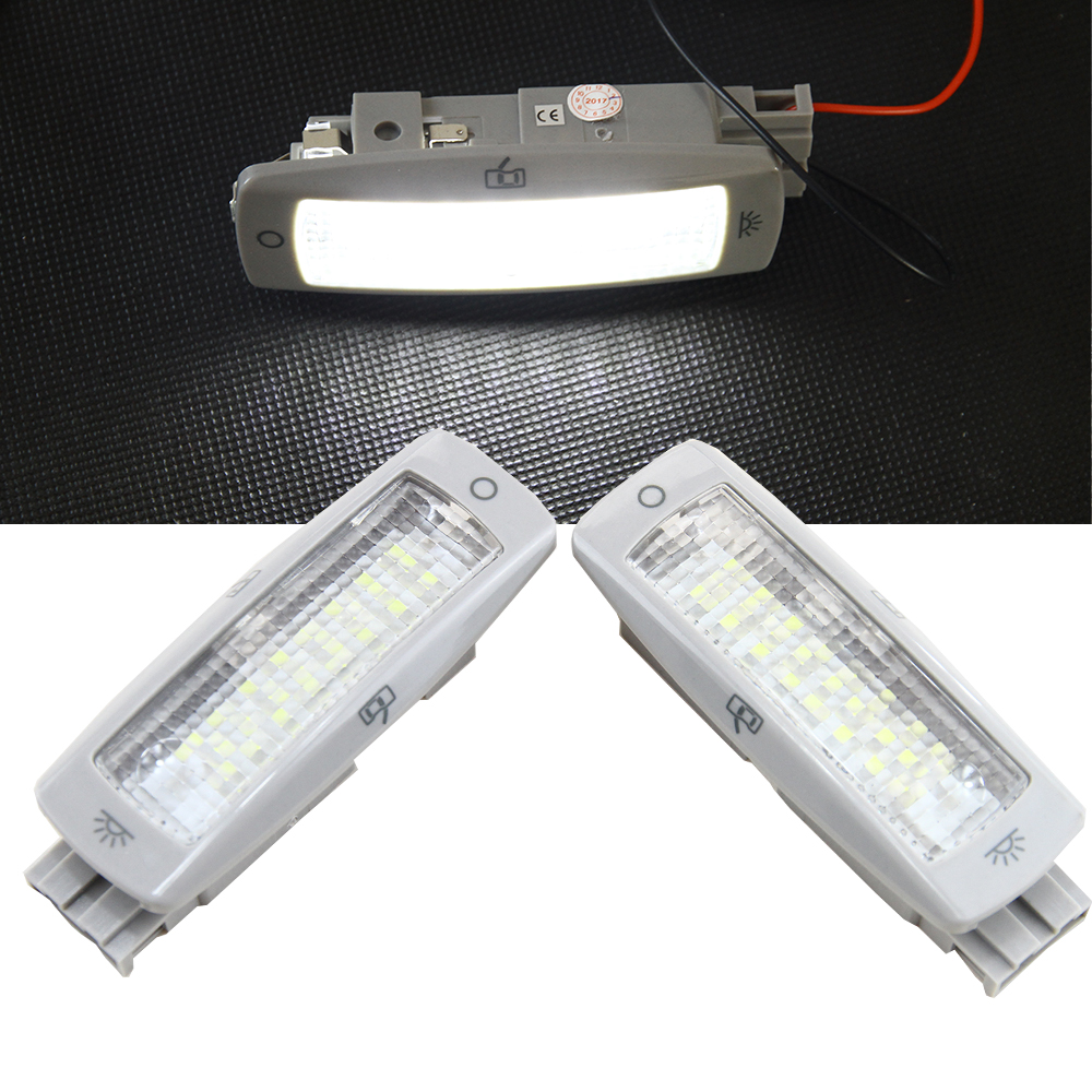 High Quality Rear Interior Dome Light Lamp Inside Ceiling Reading Light For VW Golf Passat Beetle Tiguan Skoda Seat 3B0947291 car rear trunk security shield cargo cover for volkswagen vw tiguan 2016 2017 2018 high qualit black beige auto accessories