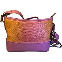 Bolsa Mujer Bags For Women 2019 Luxury Handbags Women Bags Designer Crocodile Pattern Leather Shoulder Chains Messenger Bag все цены