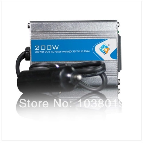 200W-Modified Sine Wave power inverter 200w peak 400W DC12V to AC 220V dc ac Power Inverter-2