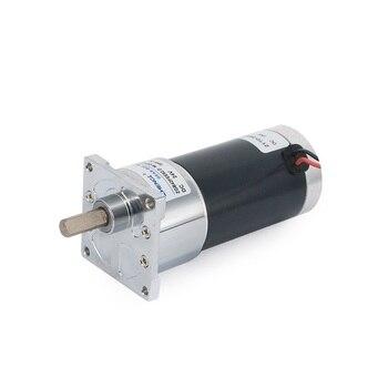 12 V/24 V ZGB42FEE reduktor DC silnik z magnesem trwałym cofanie 10-500 obr./min