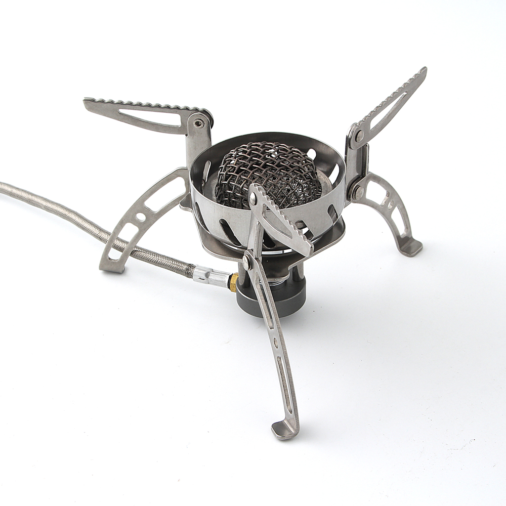 BRS-107 portable super windproof outdoor cooking burners camping gas stove Outdoor Cooker Picnic Cookout Split-Type Stove