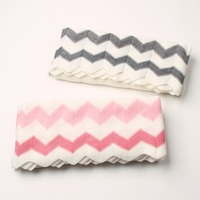 Baby Blankets Swaddle Wrap Super Soft Newborn Bebe Bedding Sofa Basket Covers Fashion Stripes Knitting Kids