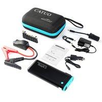 Catuo 20000 мАч портативный Авто пусковые устройства батарея Booster с USB запасные аккумуляторы для телефонов светодиодный фонарик