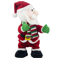 Electric Twerk Santa Claus Toy Xmas Music Singing Dancing Twisted Wiggle Hip Doll Christmas Home Decoration Kids Gifts