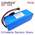 LiitoKala 36v 10Ah 10S3P 18650 аккумуляторная батарея  модифицированные велосипеды  зарядное устройство для электромобиля li-lon