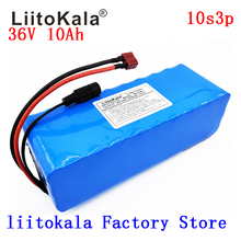 LiitoKala 36v 10Ah 10S3P 18650 Rechargeable Battery, Modified Bikes, Electric Vehicle Battery Charger li-lon 36v 10ah 10s3p 18650 rechargeable battery pack 500w modified bicycles electric vehicle 42v li lon batteries 2a battery charger