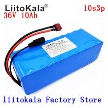 LiitoKala 36v 10Ah 10S3P 18650 Rechargeable Battery, Modified Bikes, Electric Vehicle Battery Charger li-lon