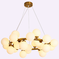 Contemporary And Contracted Crystal Chandelier Led Color Character Three Meals Chandeliers Circle Dining Room Light