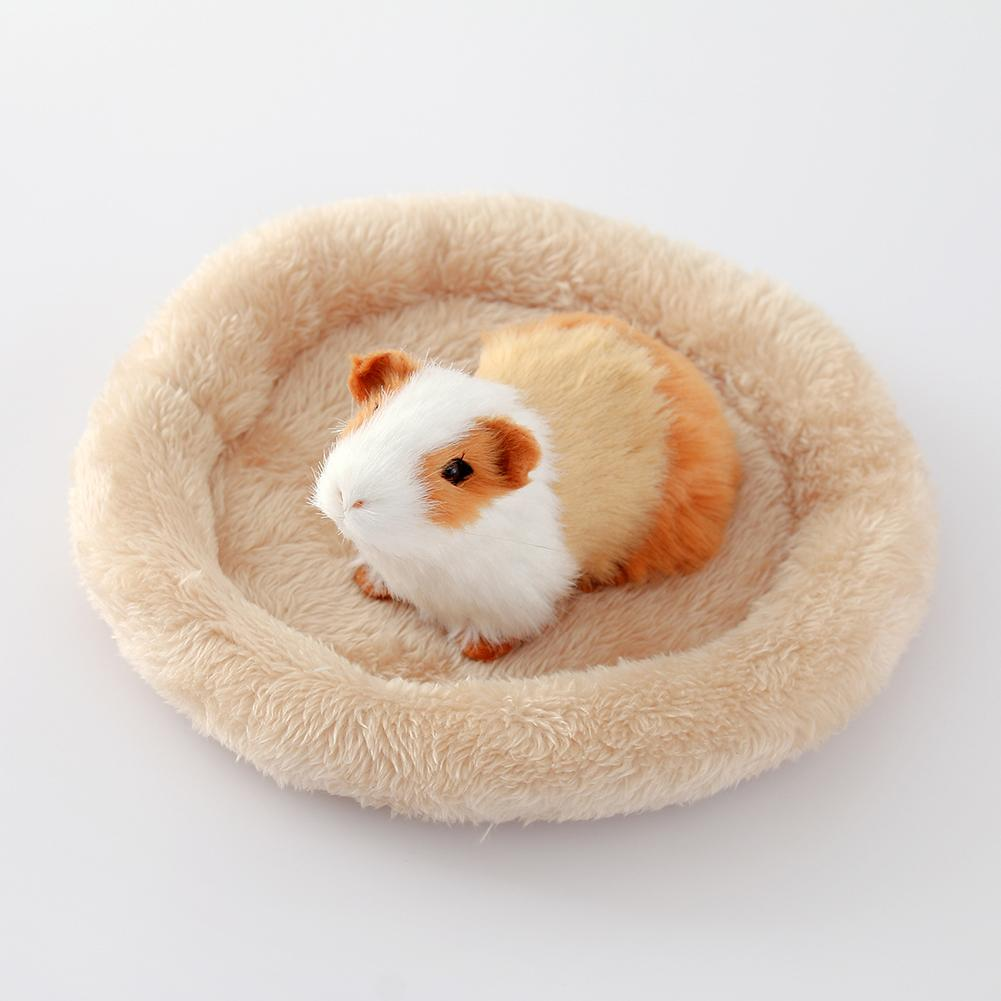 Hamster Nest Pad font b Pet b font Nest Velvet Warm Cotton Nest Pad Hamster Hedgehog
