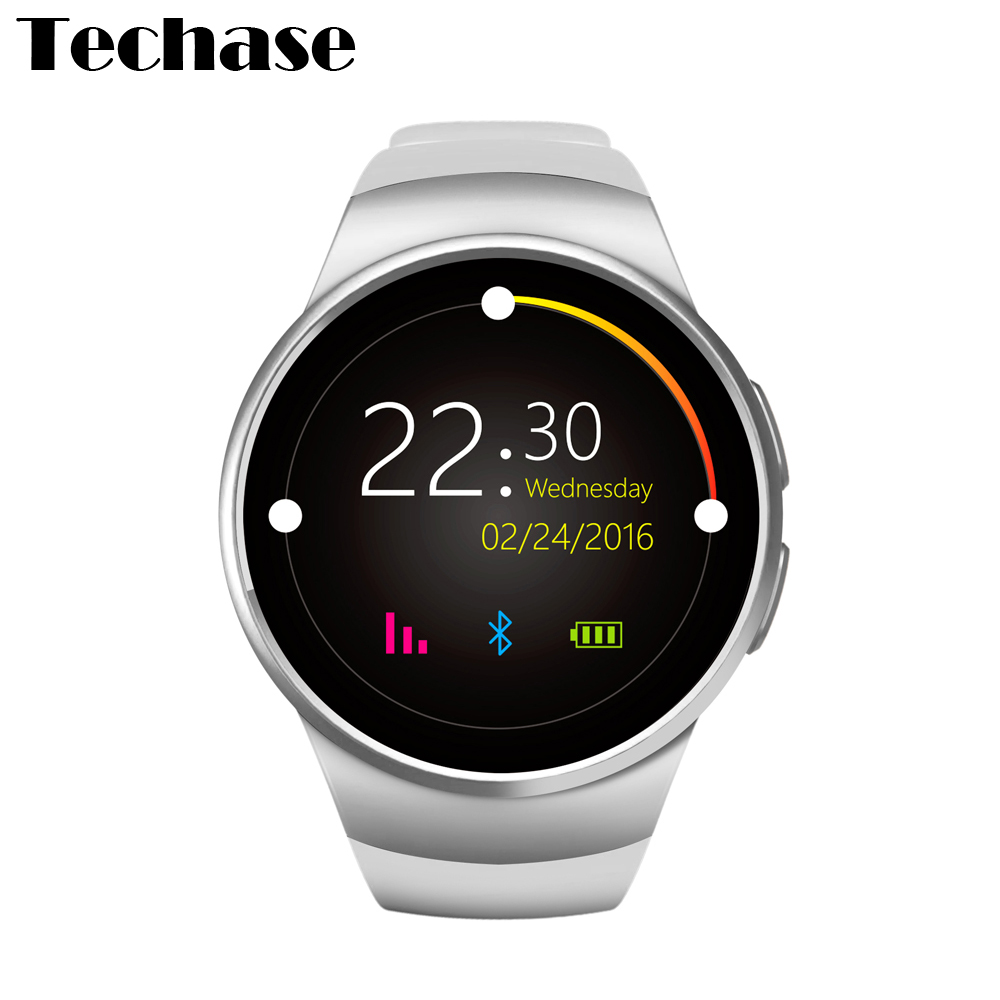 KW18 Android Smart Watch Watches Heart Rate Monitor Relogios Wearable Devices Mobile Watch Phone Relogio Inteligente SIM TF Card