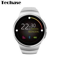 Kw18 Android Smart часы Часы сердечного ритма Мониторы relogios Беспроводные устройства мобильного телефона смотреть Relogio inteligente sim-карта TF