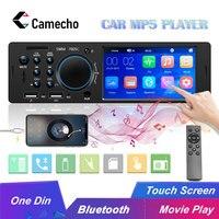 Camecho Autoradio 1 Din Bluetooth Car Radio FM MP3 MP5 Multimedia Player 12V Auto Audio 4.1 Inch Car Stereo USB Remote Control