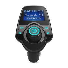 цена на Bluetooth Car Kit Wireless Car Mp3 Player FM Transmitter Modulator HandsFree Aux Music Receiver 3.5mm Adapter Speaker Undamaged