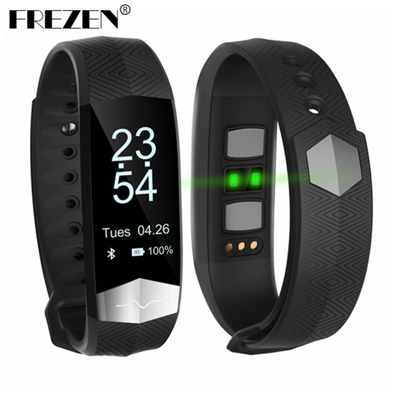 FREZEN CD01 Bluetooth Smart Band ECG Heart rate Blood pressure monitor Smart wristband Fitness Bracelet For IOS Android phones