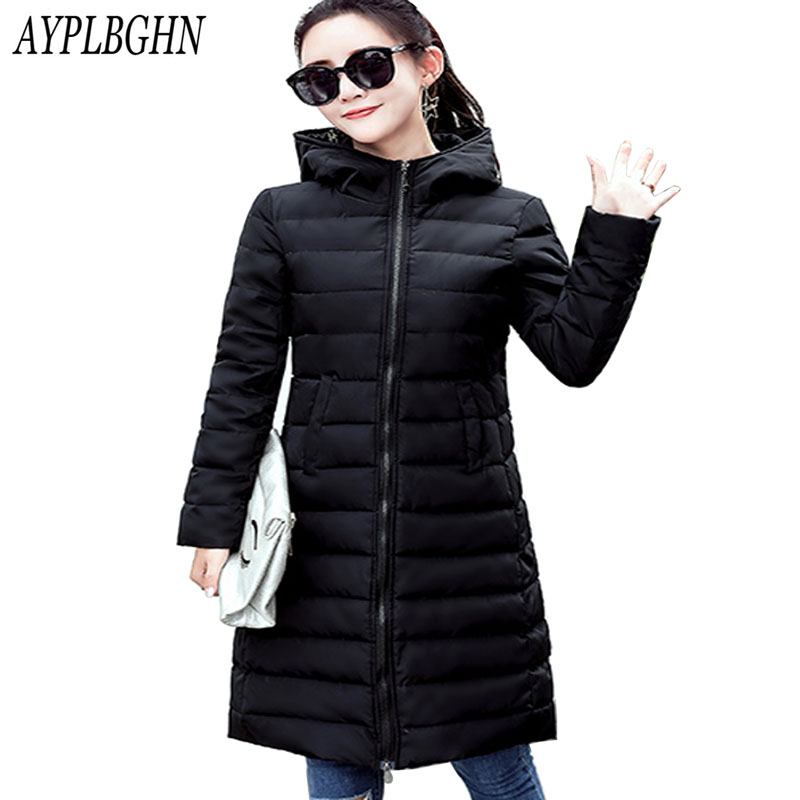 2017 New Winter Plus size Jackets Parka Women Winter Coat Outwear thick Cotton-Padded Long Coats High Quality Warm Coat Jackets