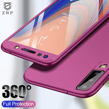 ZNP 360 Full Cover Case For Samsung Galaxy A90 A70 A60 A50 A40 A30 A20 A20E A10 Protection Case For Samsung M10 M20 M30 A50 Case(China)