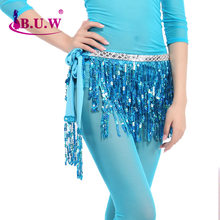 2017 Belly Dance Costume Costume Rushed Belly Dance Skirt B.u.w Brand New Waist Chain Women's All-match Decoration Belt 9856(China)