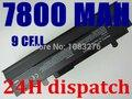 9 сотовый 7800 мАч Аккумулятор Для Ноутбука ASUS Eee PC 1015 1016 1215 1215PE, A31-1015 A32-1015 AL31-1015 PL32-1015 черный и белый