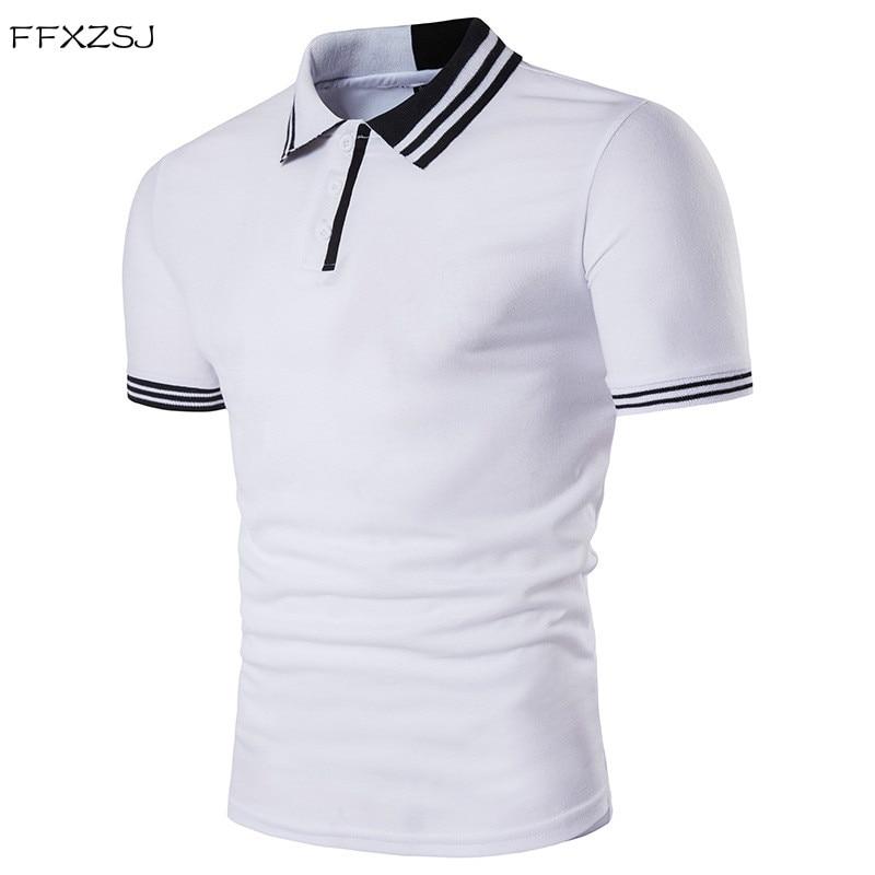 c7fb5cd985 FFXZSJ 2018 kiváló minőségű nyári divat férfiak alkalmi egyszerű ...
