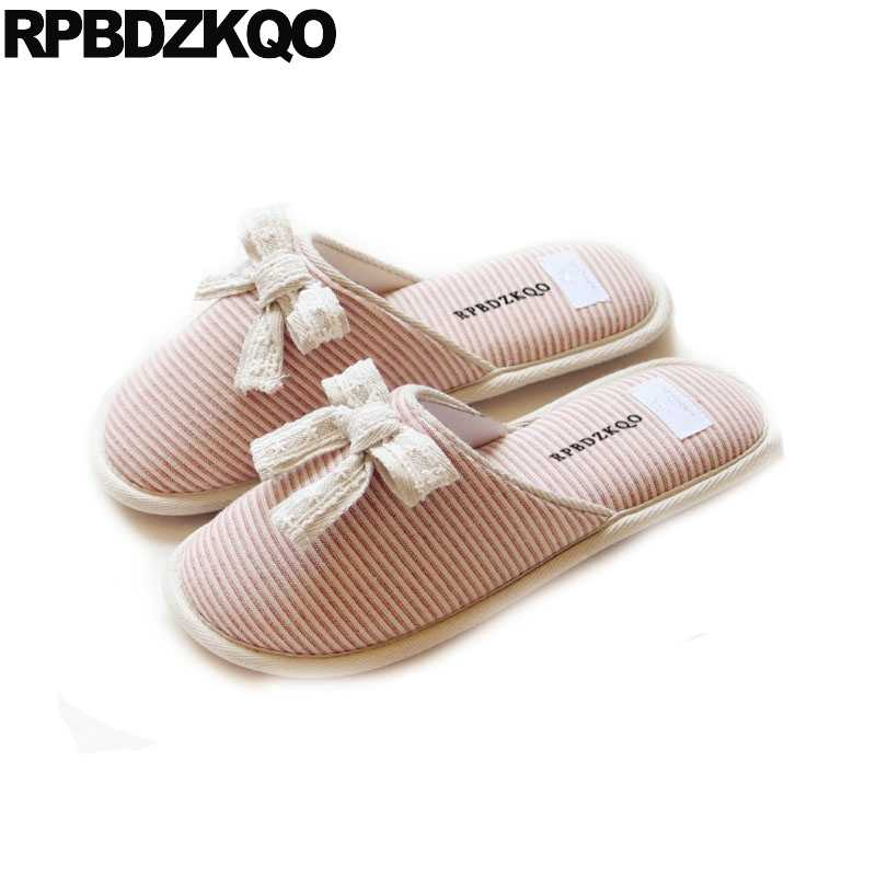 f677c6f9180 most popular products chinese shoes floor slip on bedroom house bow winter  slippers pink cute home